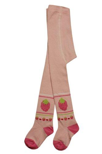 Weri Spezials Baby-Meadchen Kinderstrumpfhose in Rosa Gr. 86/92 (18-24 Monate) Erdbeere niedlich und huebsch