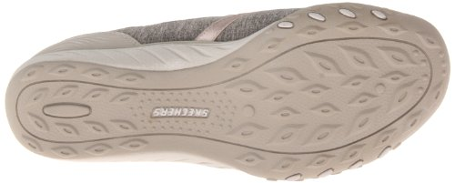 Skechers Breathe-easy good Life, Baskets Basses femme Gris - Grau (TPE)