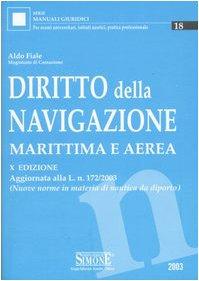 Diritto della navigazione marittima e aerea