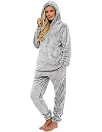 Womens Pyjamas Set Pyjama for Women Pjs Sets Womens Loungewear Super Soft Lounge Wear Prosecco Star Feather