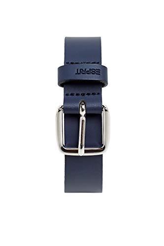 14f54bdd1b36 Esprit Accessoires 059ea1s001 Cinturón, Azul (Navy 400), 95 (Talla del  fabricante: 80) para Mujer