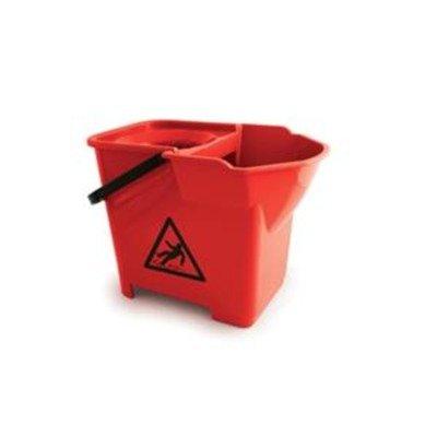bentley-colour-coded-mop-bucket-heavy-duty-16-litre-capacity-red-ref-spcmb16r