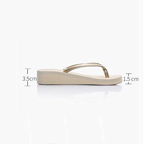 Estate Sandali Fondo piatto femminile con pantofole antisdrucciolo per la primavera e l'estate Colore / formato facoltativo 1002