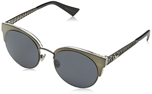 Christian dior dioramamini ir 807, occhiali da sole donna, nero (black/grey blue), 50