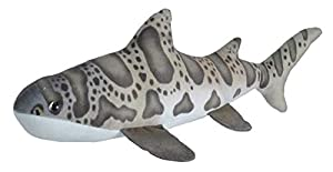 Wild Republic- Living Ocean Mini Peluche tiburón Leopardo, Juguete Relleno, 40 cm, (23412)