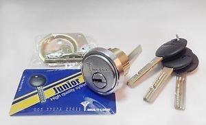 Mul-t-lock Junior Rim & Mortise Rimo Cylinder  Mul-t-lock Rim Mortise 3  Keys by Mul-T-Lock