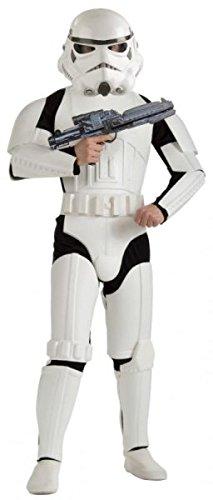 Lizenziertes Kostüm–Erwachsene Deluxe Storm trooper- XL (Adult Kostüme Pinatas)