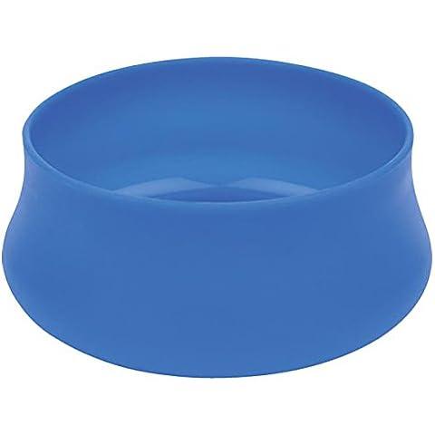 Guyot Designs 48-Ounce Squishy Ciotola del cane bottiglia di acqua (blu, Large)
