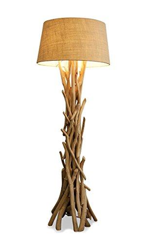 Treibholz Lampe 155cm hoch - Unikat - Handarbeit