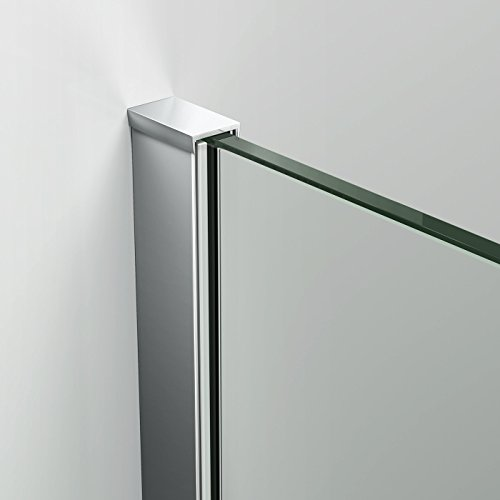 800mm Wet Room Glass Walk In 8mm Easy Clean Shower Screen Panel - All Sizes