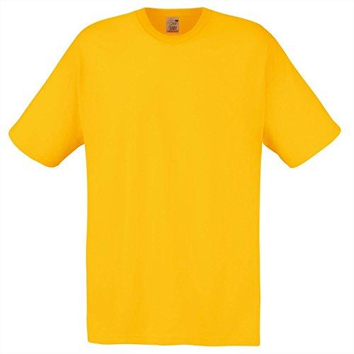 Fruit of the Loom Herren T-Shirt Ss022m Sunflower