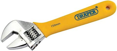 Draper DIY Series 5770 150mm Adjustable Wrench Soft Grip