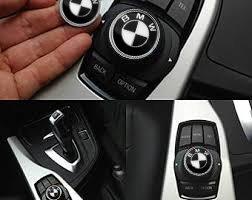Preisvergleich Produktbild Ersatz 29 mm Emblem Black&White Interior Multimedia Sound Button iDrive Control Badge Logo