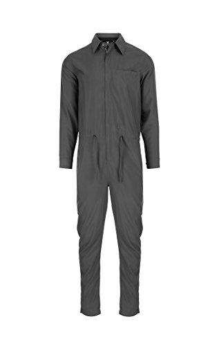 OnePiece Damen Jumpsuit Silver, Schwarz (Charcoal), 38 (Herstellergröße: M) - 3