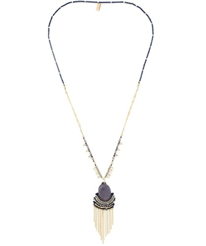 butterfly-womens-himalaya-stone-necklace-black-grey-one-size