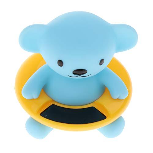 Fenteer Badethermometer für Badewasser- und Raumtemperatur - Blauer bär