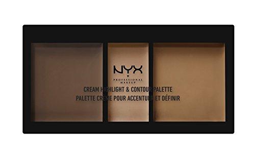 NYX Cosmetics Cream Highlight & Contour Palette Deep