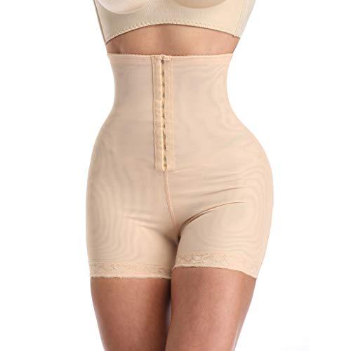 LoveLeiter Damen Hohe Taille Miederslip Unterwäsche Bauch Weg Effekt Nahtlose Shapewear Figurformender Slip Formend Miederhose Miederpants Unterhose Taille Shaping