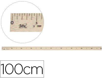 Faibo 162775 - Regla graduada, 100 cm