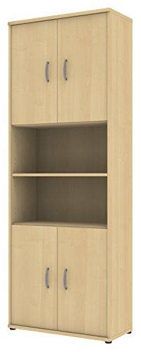 Preisvergleich Produktbild Wellemöbel, Büro Combi+, Anbauteil, 6 Ordnerhöhen 72867201, Ahorn