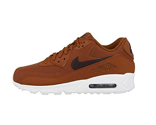 Nike Männlich Air Max 90 Essential Sneaker Low, 45.5 EU, Dark Russet-burgundy Ash-white (Aj1285-203) (Max Braun)