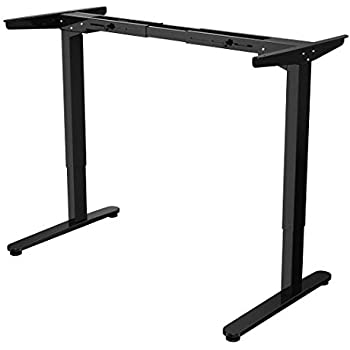 Crank Adjustable Height Sit To Stand Up Desk Charcoal