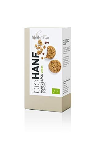 Hanf Schoko Kekse 100g BIO Keks aus Weizen und Hanf mit zarten Schokotropfen -