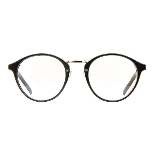 Cyxus Brille Blaulichtfilter - Anti-Müdigkeit, Anti-blaulicht >50{9e36ea70bf7a3ace615ef32e82a4054c8489e43059f60220c3026e600700e20d} (Bildschirm von TV, Telefon, Computer), Style Retro Brillen für Herren, Damen