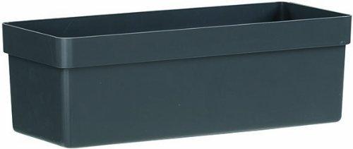 Emsa 514321 Blumenkasten, Selbstbewässerungssystem, Länge 75 cm, Granit, City