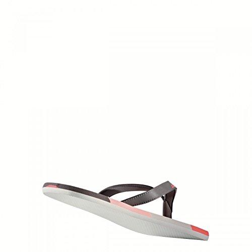 adidas Eezay Striped W, Infradito Donna Grigio (Gritra/Corneb/Corsen)
