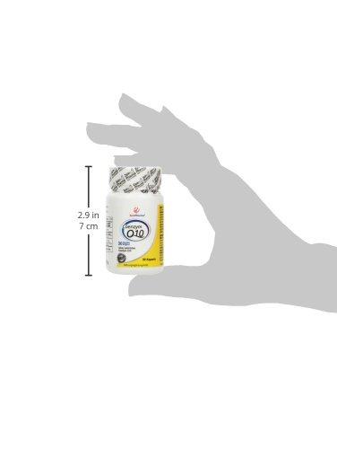 ZeinPharma Coenzym Q10 30 mg 90 Kapseln (Monatspackung) Glutenfrei, vegan, koscher & halal Hergestellt in Deutschland, 18 g
