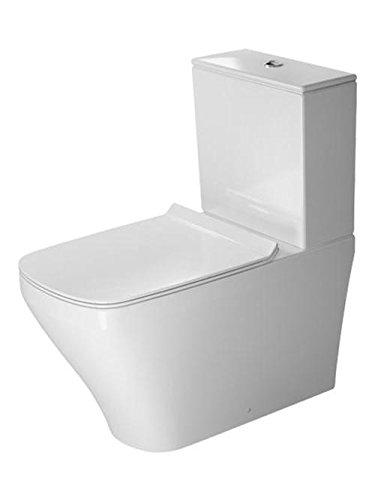 Preisvergleich Produktbild Duravit Stand-WC DuraStyle Kombi 720 mm Tiefspüler (ohne Deckel), ohne Spülkasten, Abg.Vario, weiss,
