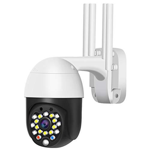 Nrpfell 1080 P Cloud Speicher Drahtlose PTZ IP Kamera 4 Digital Zoom Geschwindigkeit ??Dome Kamera u?En WiFi udio P2P CCTV üBerwachung (EU Stecker)
