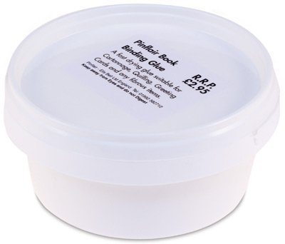 Pinflair Bookbinding Glue, 120g tub by Pinflair