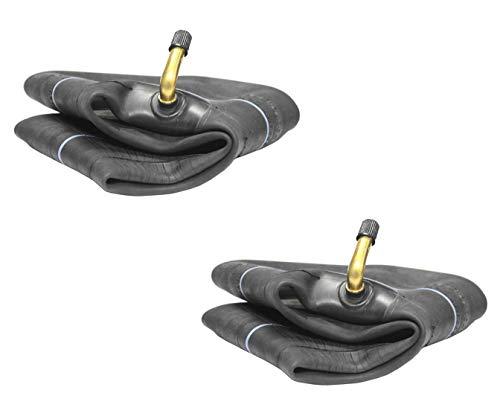 Lotto di 2(due) Deli marca 15,2cm pneumatici tubo interno TR87Bent metal Valve Fits Dimensioni 4.10/3.50-6