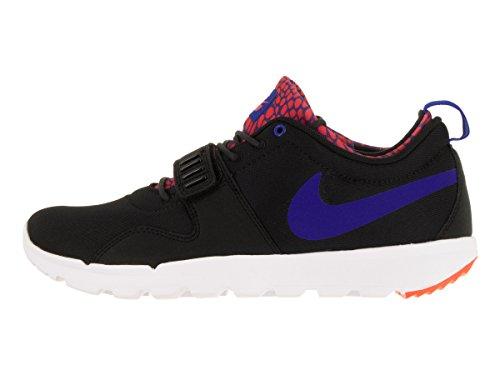 Nike Herren Trainerendor Turnschuhe Black (Black (Schwarz / Blau-Weiß-Rcr Ttl Crmsn))