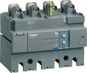 HAGER X250 - BLOQUE DIFERENCIAL PARA H630 4 POLOS 400A REGULABLE MONTAJE INFERIOR