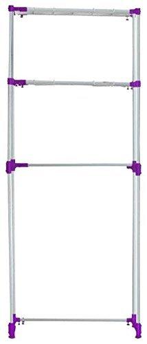 Bonita SPACIO Space Saver, Purple, Cold Rolled Steel (MS), Epoxy Powder Coated, ABS/PP Plastic, 105 x 32 x 160 cm