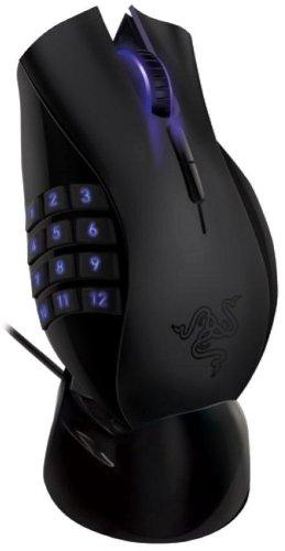 Razer Naga Epic kabellose MMO Gaming Maus (5600 dpi, 17 programmierbare Tasten)...