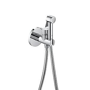 Roca Be Fresh – Kit ducha grifo bidé (1 salida). incluye ducha de mano, soporte de ducha con auto-stop, toma  . Duchas y rociadores. Ref. A5B0605C00