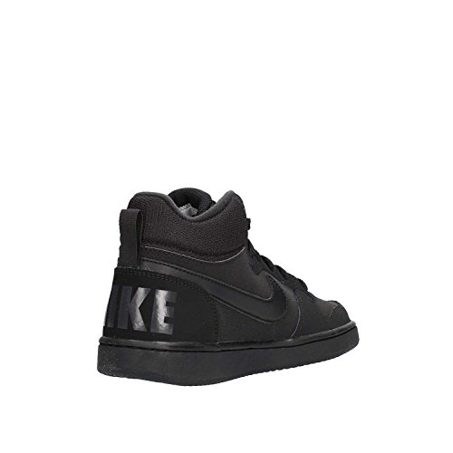 Nike Court Borough Mid (Gs), Scarpe da Basket Bambino Black