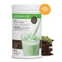 Gesunde Mahlzeit Minze Schokolade - 550 g ()
