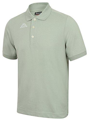 Kappa - Camiseta de tipo polo Grey-Green L
