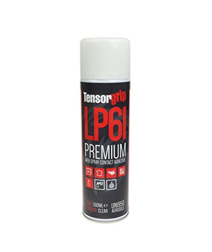TensorGrip LP61 in 500ml Spraydose | Premium-Netz-Spray Kontaktkleber Sprühkleber | Klebstoff Kleber Sprühdose