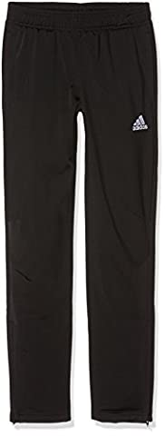 adidas Kinder Tiro 17 Trainingshose, Black/White, 164