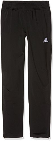 adidas Kinder Tiro 17 Hose, Black/White, 164