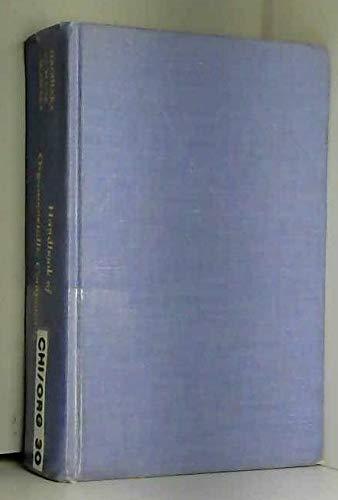 Handbook of Organometallic Compounds