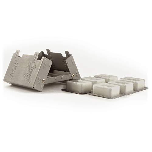 Relags Esbit Taschenkocher 'Klein' -6 x 14 g Kocher, Grau