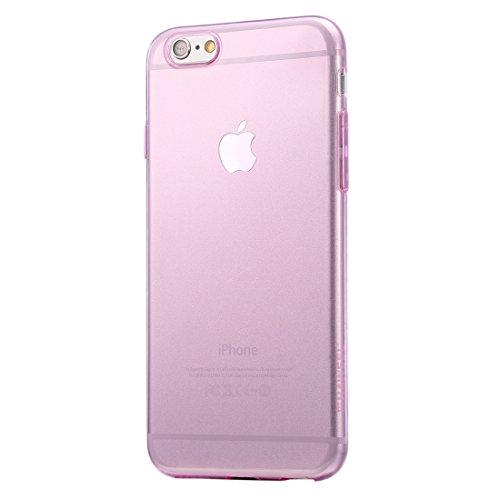 Wkae Case & Cover haweel 0,3 mm 0 série transparent tpu étui protecteur pour iphone 6 &6s ( Color : Black ) rose