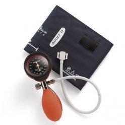 Welch Allyn Durashock DS55Silber Serie Hand Aneroid Blutdruckmessgerät, rot (ds-5541-149)